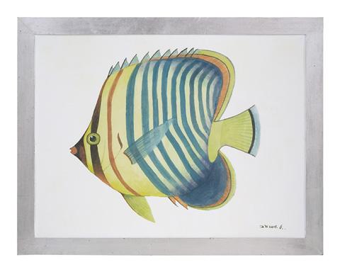 John Richard Collection - Azure Fish II - GBG-0840B