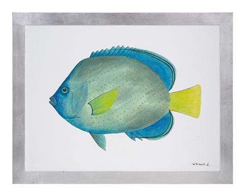 John Richard Collection - Azure Fish IV - GBG-0840D