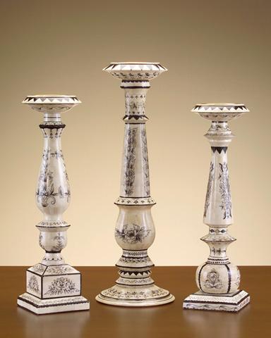 John Richard Collection - Pillar Candle Holder - JRA-6917