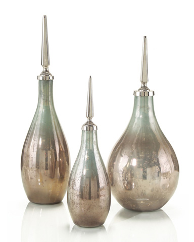 John Richard Collection - Opalescent Glass Bottles Set - JRA-8415S3