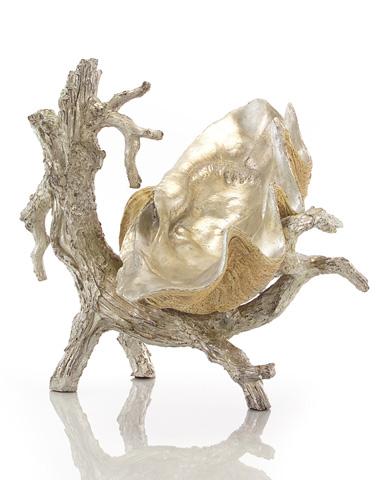 John Richard Collection - Silver Driftwood Stand - JRA-8631