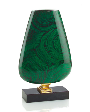 John Richard Collection - Malachite Vase - JRA-8928