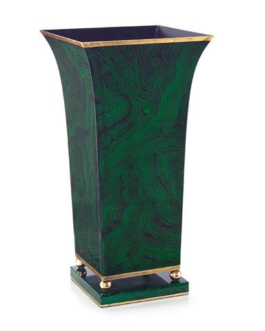 John Richard Collection - Malachite Planter - JRA-9184