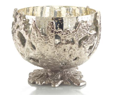 John Richard Collection - Nickel Casting Encases Gold Bowl - JRA-9195