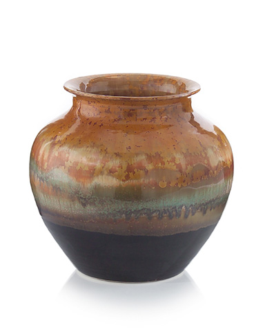 John Richard Collection - Reactive Glazed Short Jar - JRA-9227