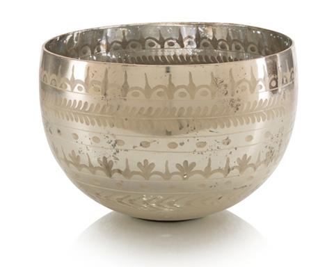 John Richard Collection - Etched Mercury Bowl - JRA-9514