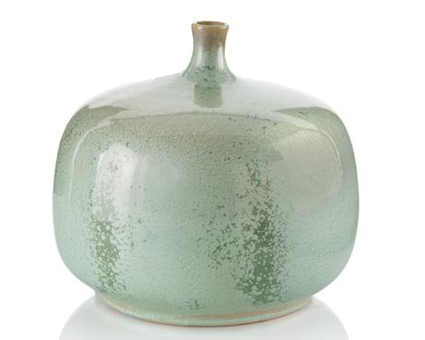 John Richard Collection - Jar in Reactive Green Glaze - JRA-9595