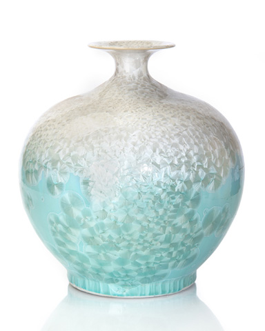 John Richard Collection - Celestial Blue and White Jar - JRA-9743