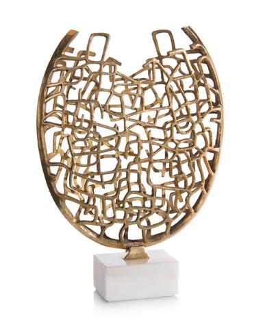 John Richard Collection - Cubist Inspired Vase Sculpture - JRA-9841