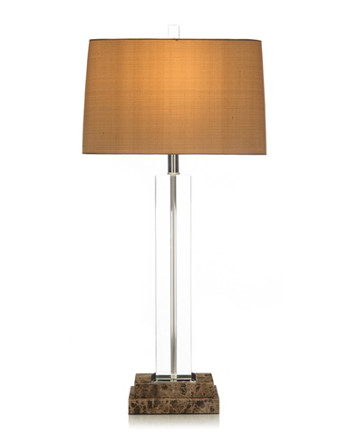 John Richard Collection - Brown Marble Lamp - JRL-7432