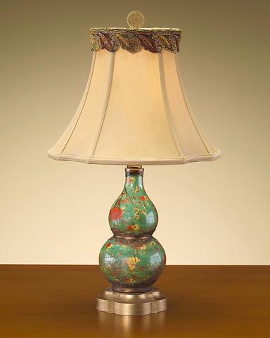 John Richard Collection - Flower Porcelain Lamp - JRL-7449