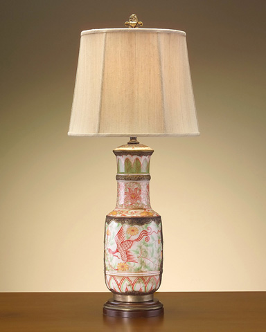 John Richard Collection - Brass Pottery Lamp - JRL-7455
