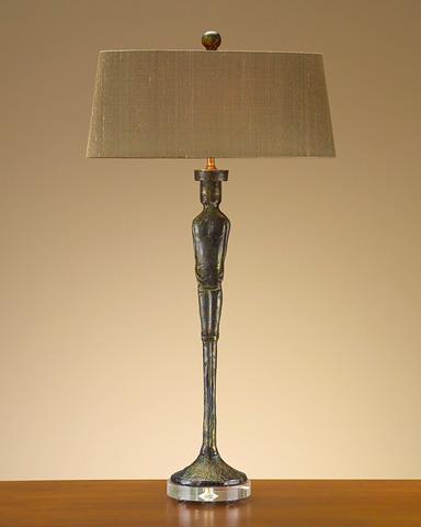 John Richard Collection - Giacometti Figure Male Lamp - JRL-7883