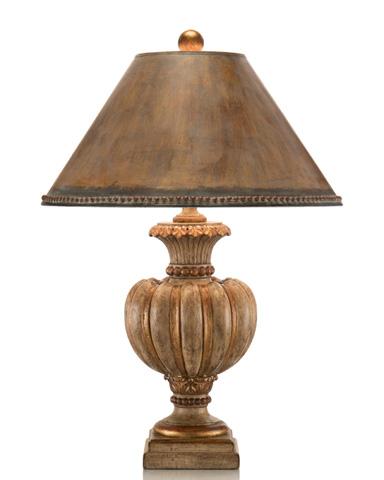 John Richard Collection - Fluted Tuscan Cream Urn Lamp - JRL-8023