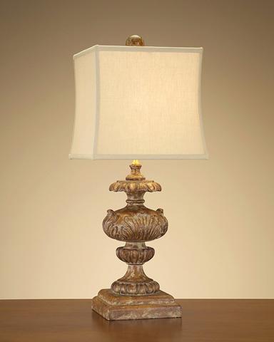 John Richard Collection - Country Pine Finial Lamp - JRL-8032