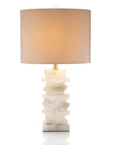 John Richard Collection - Alabaster Block Lamp - JRL-8443