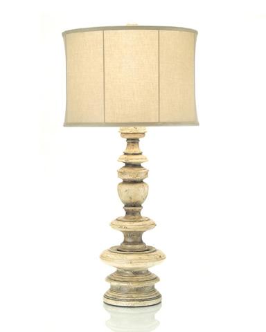 John Richard Collection - Turned Wood Table Lamp - JRL-8575