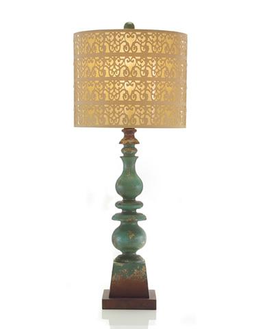 John Richard Collection - Turkish Turquoise Lamp - JRL-8631