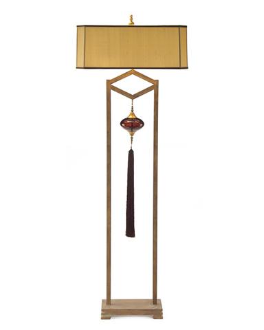 John Richard Collection - Framed Murano Glass Pendant Floor Lamp - JRL-8783