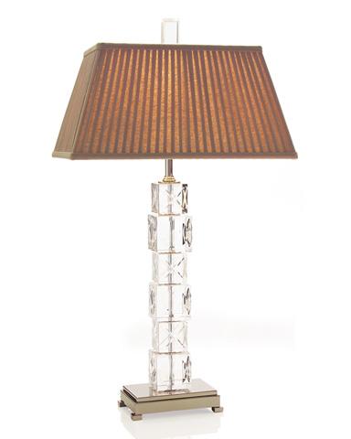 John Richard Collection - Crystal X's & O's Lamp - JRL-8802