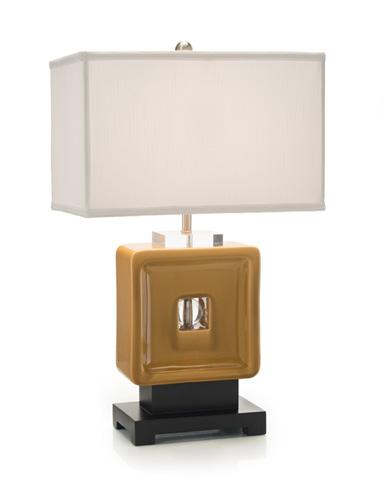 John Richard Collection - Mustard Square Lamp - JRL-8943