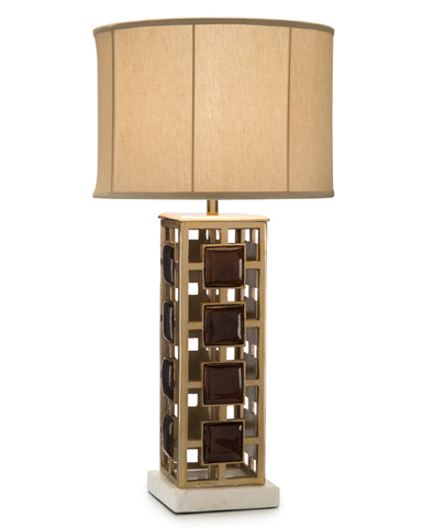 John Richard Collection - Grid Buffet Lamp - JRL-9014