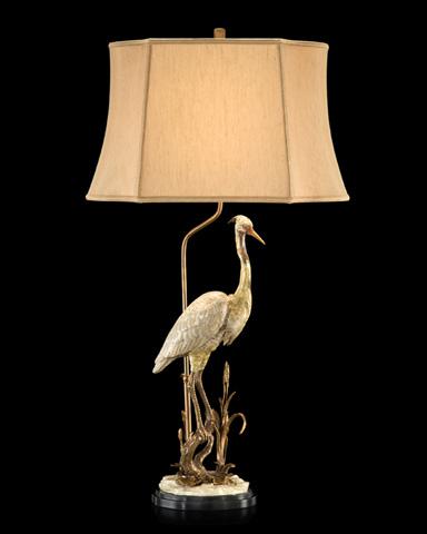 John Richard Collection - White Heron Accent Lamp - JRL-9033