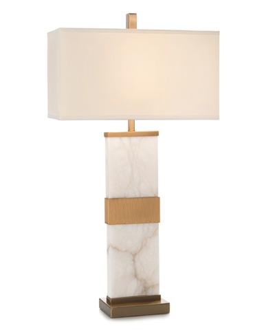 John Richard Collection - Alabaster Column Table Lamp - JRL-9084