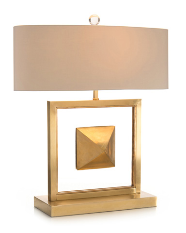 John Richard Collection - Floating Pyramid Table Lamp - JRL-9113