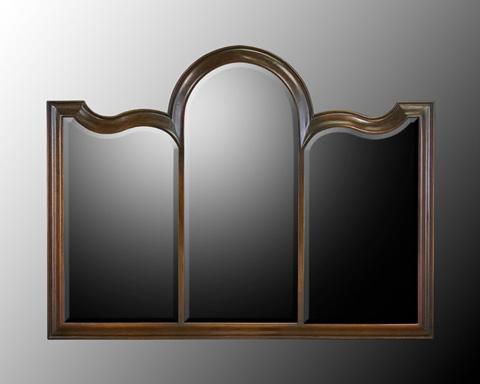 John Richard Collection - Wood Frame Beveled Mirror - JRM-0321