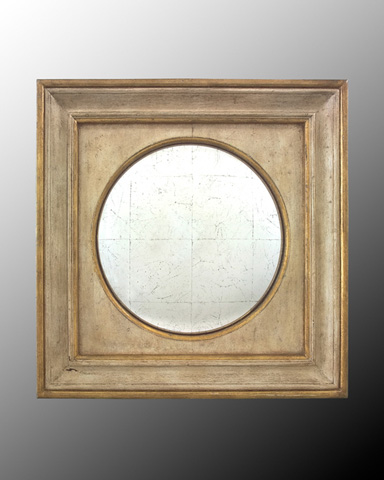 John Richard Collection - Eglomise Convex Mirror - JRM-0445