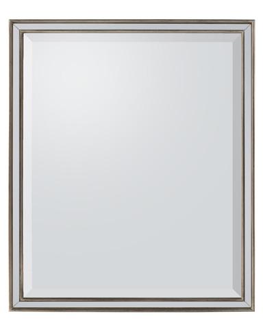 John Richard Collection - Antique Silver Wood Framed Mirror - JRM-0748