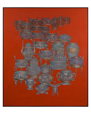 John Richard Collection - Teng Fei's Urn - JRO-2715