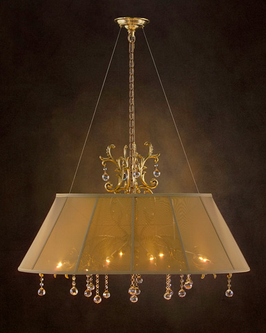 John Richard Collection - Eight Light Chandelier - AJC-8688