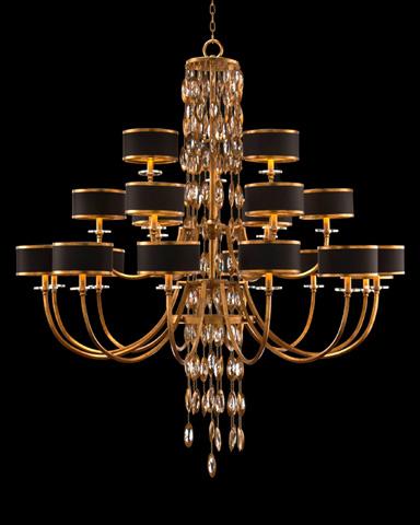 John Richard Collection - Twenty One Light  Chandelier - AJC-8852