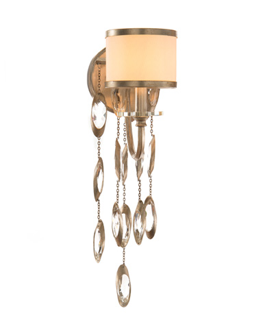 John Richard Collection - One Light Sconce in Silver - AJC-8857