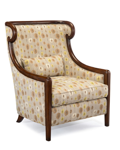 John Richard Collection - Camille Bergere Tufted Back Chair - AMF-1299V50-2039-AS