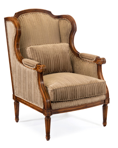 John Richard Collection - Reims Wing Chair - AMF-1320V19-1019-AS