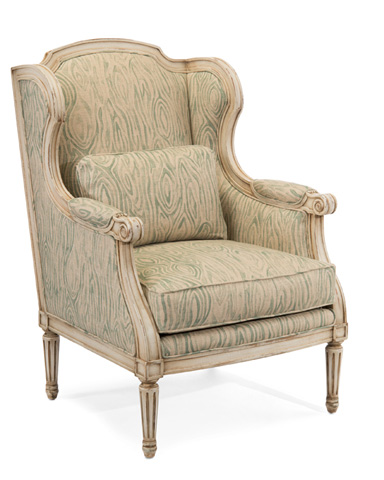 John Richard Collection - Reims Wing Chair - AMF-1320V59-1032-AS