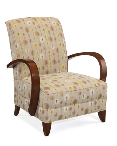 John Richard Collection - Alexa Mid-Century Club Chair - AMF-1327V50-2039-AS