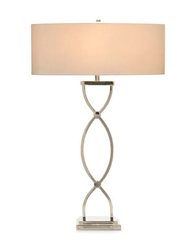 John Richard Collection - Nickel Braid Table Lamp - JRL-9191