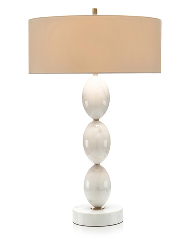 John Richard Collection - Marble Ovals Table Lamp - JRL-9219