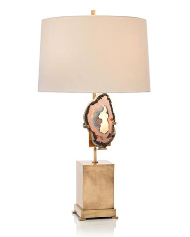 John Richard Collection - Brass Geode Table Lamp - JRL-9223