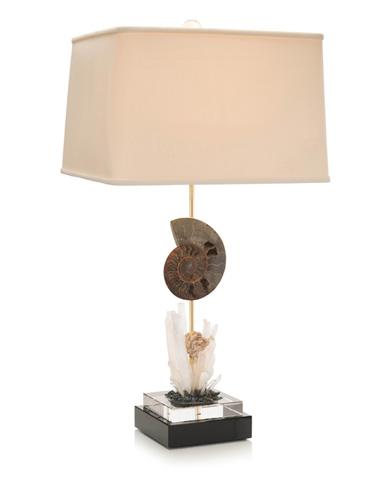 John Richard Collection - Ammonite Buffet Lamp - JRL-9247