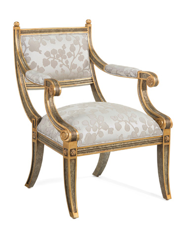 John Richard Collection - Empire Style Arm Chair - AMF-1008V10-1033-AS