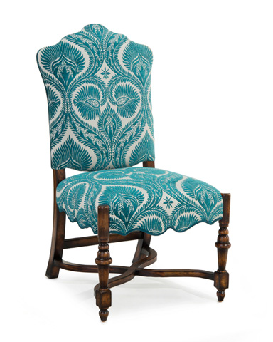 John Richard Collection - Dining Side Chair - AMF-1066V18-2047-AS
