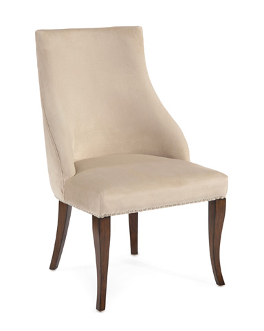 John Richard Collection - Parisien Slipper Style Dining Chair - AMF-1353-1034-AS