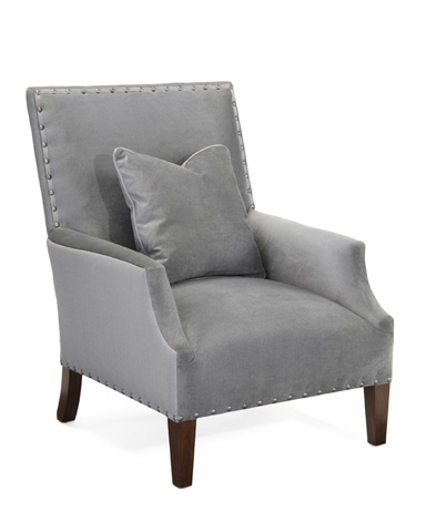John Richard Collection - High Back Scoop Arm Club Chair - AMQ-1110Q01-1036-AS