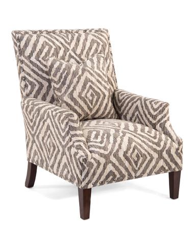 John Richard Collection - High Back Scoop Arm Club Chair - AMQ-1110Q01-2052-AS