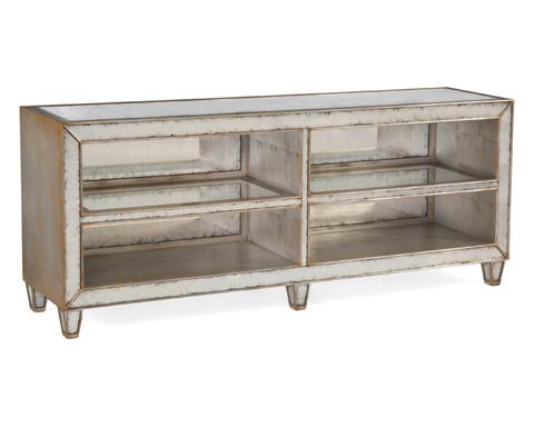 John Richard Collection - Eglomise Shelved Sofa Table - EUR-02-0236